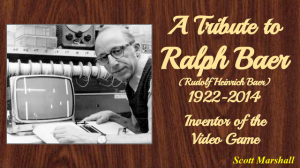 Tribute to Ralph Baer